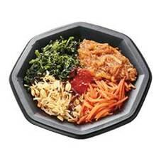 1/2日分の野菜がとれるナムル丼 378円