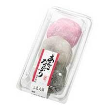 あんこたっぷり三色大福 108円