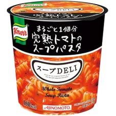 クノール スープDELI まるごと1個分完熟トマトのスープパスタ(容器) 108円(税抜)
