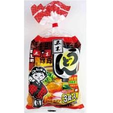 3食入スープ付うどん 108円(税抜)