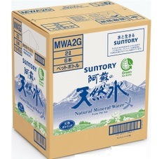 天然水(阿蘇)ケース 398円(税抜)