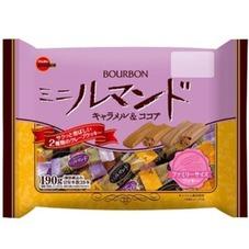 ミニルマンド(キャラメル&ココア) 178円