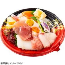 ハッピーデー!12種のにぎわい海鮮丼 698円(税抜)