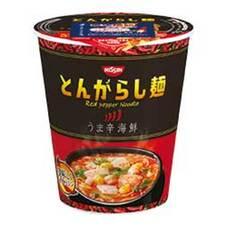 日清のとんがらし麺 うま辛海鮮 5ポイントプレゼント