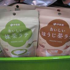 おいしい抹茶ラテ/ほうじ茶ラテ 398円(税抜)