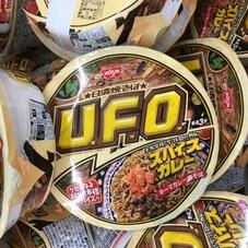 焼そばUFO スパイスキーマカレー 128円(税抜)