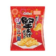 堅あげポテト梅味 88円(税抜)