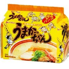 うまかっちゃん5食 248円(税抜)