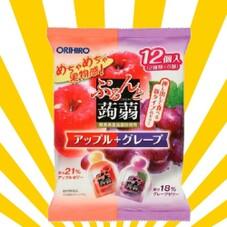 ぷるんと蒟蒻ゼリー 12個 158円(税抜)