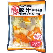 豚汁の具水煮 297円(税抜)