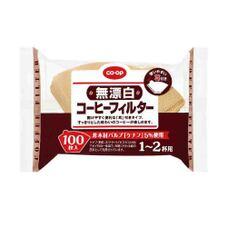 CO-OP 無漂白 コーヒーフィルター 1~2杯用 168円(税抜)