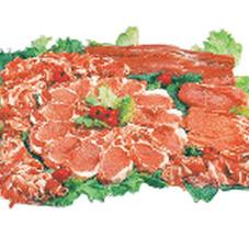 豚肉各種・ロース ばら 肩ロース 198円(税抜)