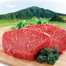 黒毛和牛ももステーキ用〔4等級以上〕 780円(税抜)