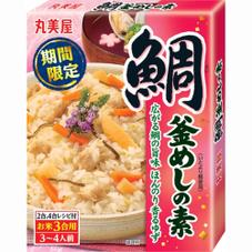 釜めしの素 鯛 298円(税抜)