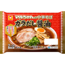 マルちゃん中華そば ガラだし醤油 198円(税抜)