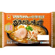 マルちゃん中華そば ガラだし味噌 198円(税抜)