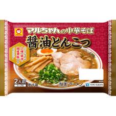 マルちゃん中華そば 醤油とんこつ 198円(税抜)