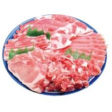 豚肉部位別均一セール ロース(しゃぶしゃぶ用、とんかつ用) 218円(税抜)