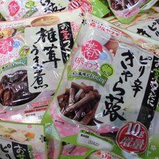 お菜つくだに ピリ辛きゃら蕗・椎茸うま煮 178円(税抜)