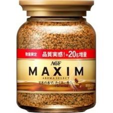 マキシムインスタントコーヒー増量 80g+20g 258円(税抜)