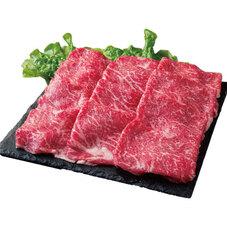 牛ロースすき焼き用(国産) 698円(税抜)