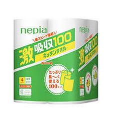 ネピアキッチンタオル100カット 258円(税抜)