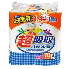 超吸収キッチンタオル 187円(税抜)