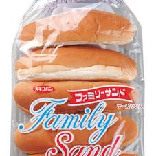 ファミリーサンド5本 167円(税抜)