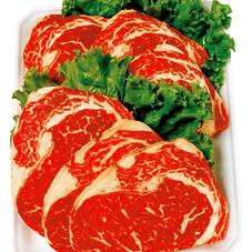 牛肉ロースステーキ焼肉、すき焼き用 247円(税抜)