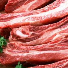 豚肉かたばらスペアリブ焼肉用(解凍) 734円