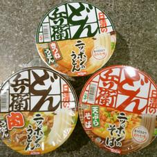 どん兵衛各種 108円(税抜)