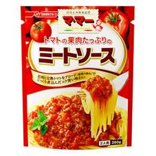 果肉たっぷりのミートソース 158円(税抜)
