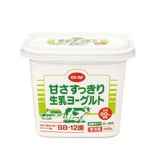 甘さすっきり生乳ヨーグルト 168円(税抜)