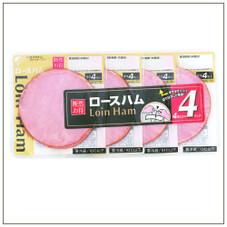ロースハム4連 278円