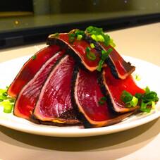 生食用カツオタタキスライス 398円(税抜)