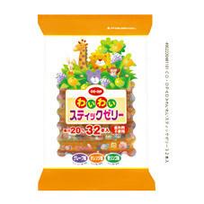 わいわいスティックゼリー 328円(税抜)