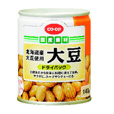 大豆ドライパック(北海道産大豆使用) 98円(税抜)
