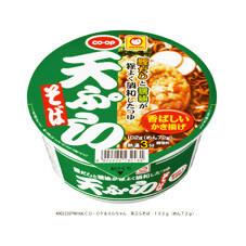 天ぷらそば 78円(税抜)