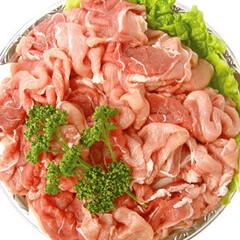 豚モモ鍋物用切り落とし 100円(税抜)