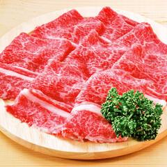 黒毛和牛切落し(モモ・カタ・バラ肉) 398円(税抜)