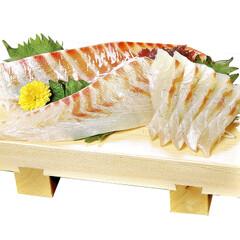 朝〆真だい刺身切盛(養殖) 398円(税抜)