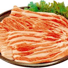 大山町産豚バラ肉 208円(税抜)