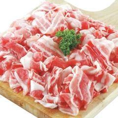 豚肉ばら切りおとし 158円(税抜)