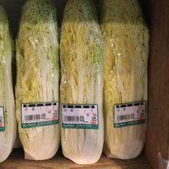 白菜 38円(税抜)