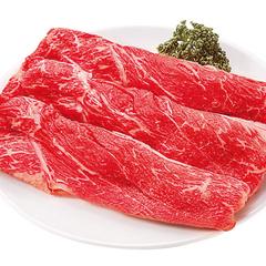 国産牛モモ(肩)うす切り 680円(税抜)
