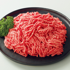 牛豚ひき肉(解凍)〈牛肉(豪州産、米国産)、豚肉(国産、米国産)〉 97円(税抜)