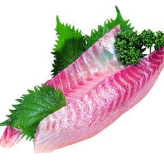 真鯛(養殖)刺身用サク 480円(税抜)
