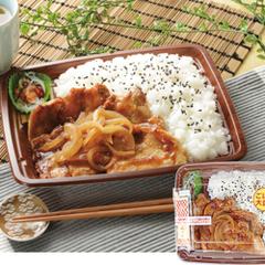 豚ロース生姜焼弁当 498円