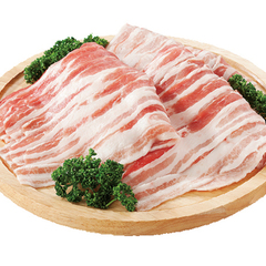豚バラスライス(ジャンボパック)※解凍 108円(税抜)