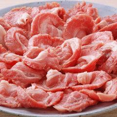 牛肩肉モモ肉切落し 399円(税抜)